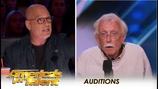 Download Watch What Happens When Howie Recognizes Fellow Comedian From Years Past | America's Got Talent 2018 Video