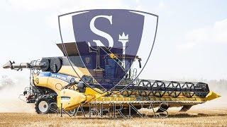 Download SkaberNäs - 3x New Holland CR 10.90 ″World's largest combines″ in Sweden Video