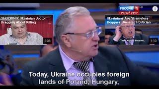 Download Ukraine occupies territories of Russia, Poland, Romania, Hungary and Сzech Republic - Zhirinovsky Video