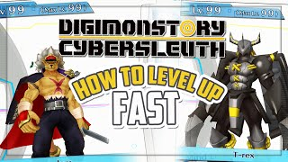 Download How To Level Up FAST (Max LVL EASY) | Digimon Story: Cyber Sleuth (PS Vita/PS4) Video