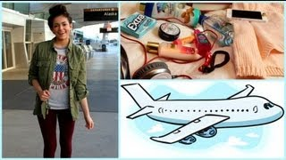 Download Airplane/Traveling Hair, Makeup,Outfit! +My Carry on essentials Video