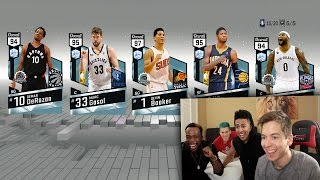 Download MY GREATEST PACK OPENING OF ALL TIME *7 DIAMOND PULLS* NBA 2K17 DEVIN BOOKER Video
