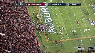 Download 2013 Iron Bowl ending HIGH DEFINITION Auburn beats Alabama Video