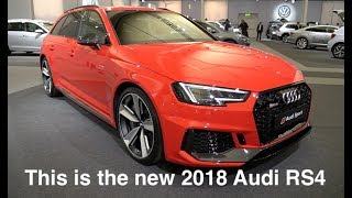 Download This is the new 2018 Audi RS4 Video