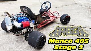 Download Manco 405 Stage 2 ~ 500hp Go Kart?!?!?!?!?! no Video