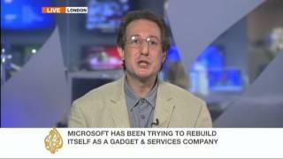 Download Technology journalist Adrian Mars on the Nokia takeover by Microsoft Video