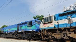 Download [4K] Extremely Rare and Unique EMD MULTIPLE UNIT Formation - Indian Railways Video