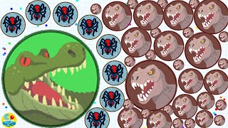 Download Agario Solo Epic Spider Skin Dominating The Server Trolling With Free Mass!(Agar.io Funny Moments) Video