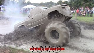 Download BADASS 498 BIG BLOCK CHEVY SENDS IT INTO THE DEEPEST MUD BOG!! Video