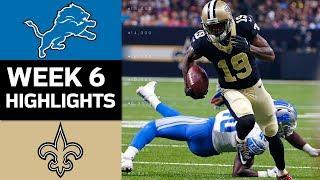 Download Lions vs. Saints | NFL Week 6 Game Highlights Video