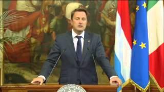 Download Renzi riceve il Primo ministro del Granducato di Lussemburgo. Conferenza stampa congiunta Video