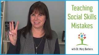 Download Social Skills for Children with Autism - 3 Mistakes to Avoid Video