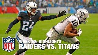 Download Raiders vs. Titans   Week 12 Highlights   NFL Video
