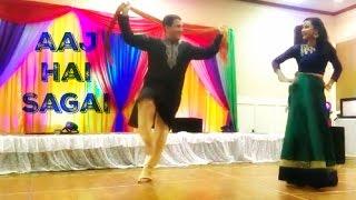 Download Aaj Hai Sagai   Bollywood Sangeet Performance   April 2017 Video
