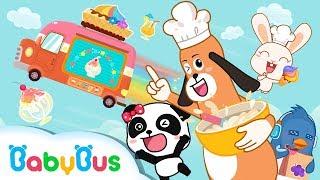 Download Ice Cream & Smoothies Truck Kiki & Miumiu Have Chocolate Strawberry Ice Cream Playset Video