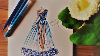 Download How to Draw Chiffon Dress Video