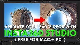 Download Insta360 Studio - FULL TUTORIAL Video