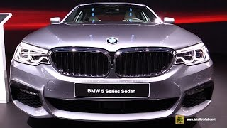 Download 2017 BMW 540i M Sport - Exterior and Interior Walkaround - Debut at 2017 Detroit Auto Show Video