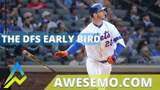 Download The DFS Early Bird Top MLB Plays Yahoo DraftKings FanDuel 08212019 Video