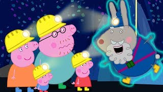 Download Peppa Pig Official Channel   Peppa Pig's Adventure in the Caves with Grampy Rabbit Video