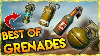 Download PUBG BEST GRENADE MOMENTS | BEST PUBG WEAPONS | PUBG BEST MOLOTOV, SMOKE, FLASH GRENADE MOMENTS Video
