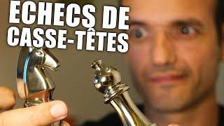 Download Ces pièces d'échecs sont des Casse-Têtes très originaux ! Video
