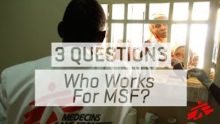 Download Who Works For MSF? Video