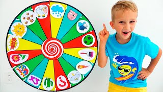 Download Vlad and kids story about Magic wheel Video