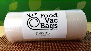 Download FoodVacBags Vacuum Bags for the FoodSaver - Product Review Video