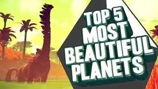 Download Top 5 - Most beautiful planets in No Man's Sky Video