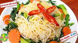 Download ✅ Muốn Đổi Bữa Hãy Làm Ngay Món BÚN KHO XÀO TRỨNG Cực Ngon Mà Nhanh Này | Hồn Việt Food Video