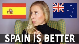 Download 10 things better about Spain than Australia Video