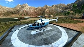 Download BeamNG.drive - Bell 407 with an Xbox 360 controller (HD) Video