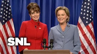 Download Sarah Palin and Hillary Address the Nation - SNL Video
