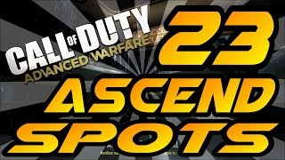 Download 23 Ascend Spots & Glitches! - Advanced Warfare (Jumps, Lines of Sight, Infected and Hiding Spots) Video