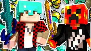 Download UNLIMITED DIAMONDS x1000 BUT IS IT ENOUGH?! | Minecraft Money Wars w/BajanCanadian & PrestonPlayz Video
