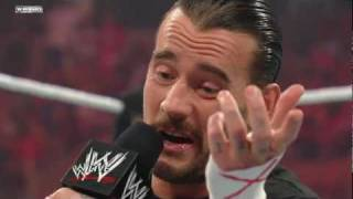 Download Raw: CM Punk discusses his plans for Money in the Bank Video
