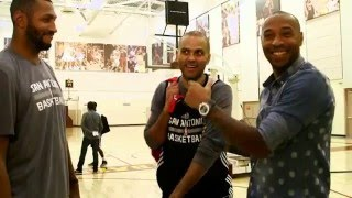 Download Guarding Kobe Bryant: Tony Parker and Boris Diaw talk about Guarding Kobe Video