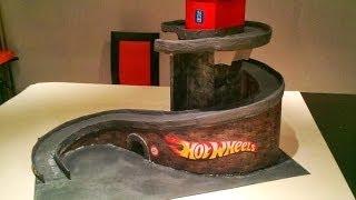 Download Cardboard track DIY - Hot Wheels Video
