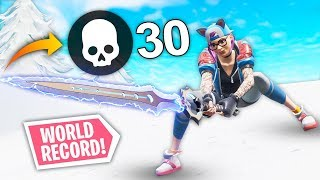 Download *WORLD RECORD* 30 KILLS WITH INFINITY BLADE! | Fortnite Best Moments #94 (Funny Fails & WTF Moments) Video