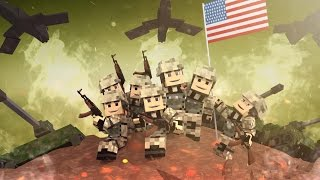 Download Minecraft | Good vs Evil - WORLD WAR 2: D-Day Invasion! (Allied Powers vs Axis Powers) Video