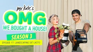 Download Landscaping Our Yard (At Last)! | OMG We Bought A House! | Mr. Kate Video