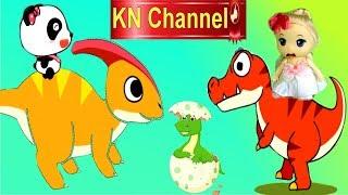 Download TRÒ CHƠI KN Channel BÚP BÊ LẠC VÀO THỜI TIỀN SỬ KHỦNG LONG TREX tập 1 Video