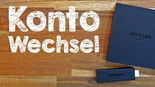 Download Amazon Fire TV Stick Konto wechseln, Tutorial auf Deutsch #TrauDirWasZu Video