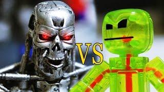 Download Stikbot Stop motion | ROBO Deathmatch (Part 2) Video