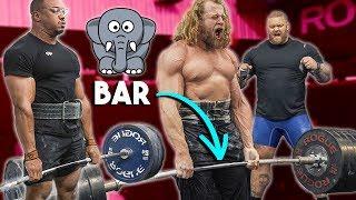 Download Deadlift Heavier On Elephant Bar? Thor, Larry Wheels, Jujimufu, BTC Video
