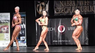Download NABBA/WFF Czech Championships 2015, Women Athletic/Extremebody - Comparisons Video
