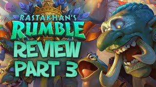 Download RASTAKHAN'S RUMBLE REVIEW - Part 3! | Card Review | Hearthstone Video