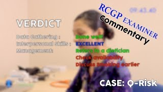 Download Explaining Q-Risk with RCGP EXAMINERS COMMENTARY // MRCGP EXAM PRACTICE // CSA Prep // Episode 8a Video