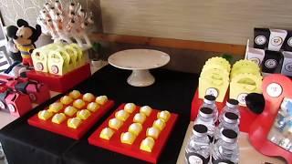Download Decoração de Festa Mickey e Panda Video